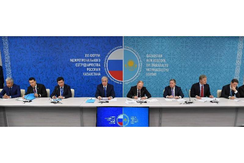 哈萨克斯坦与俄罗斯签署一系列合作文件