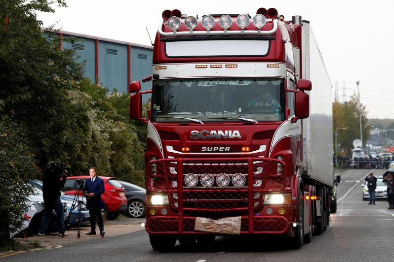 Essex truck deaths: 39 victims confirmed as Vietnamese