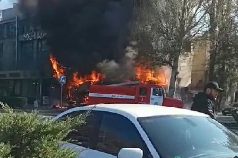 Три взрыва прогремели в центре Бишкека: погиб 1 человек, 13 пострадали
