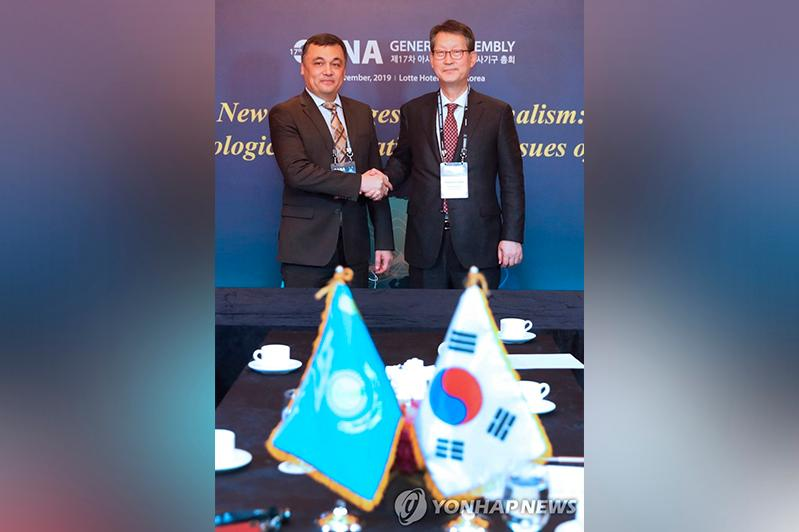 Kazinform, Yonhap vow to expand cooperation in the future