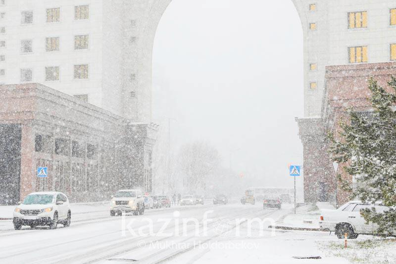 Bad weather alert issued for Kazakh capital