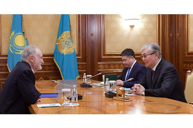 President Tokayev receives well-known French economist