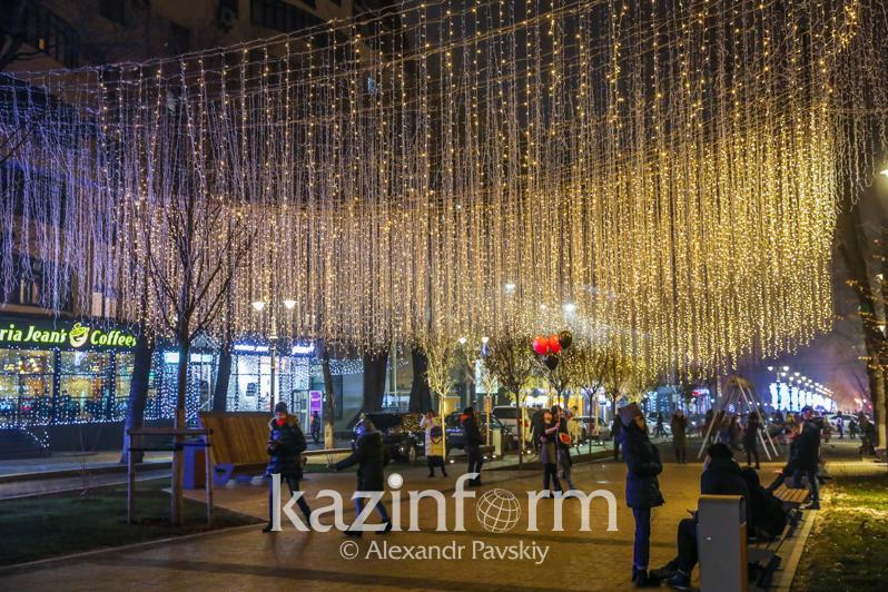 Как Алматы готовится к Новому году