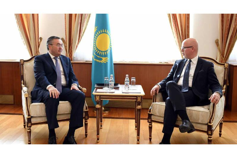 Kazakhstan, Norway stand ready to enhance mutually beneficial cooperation