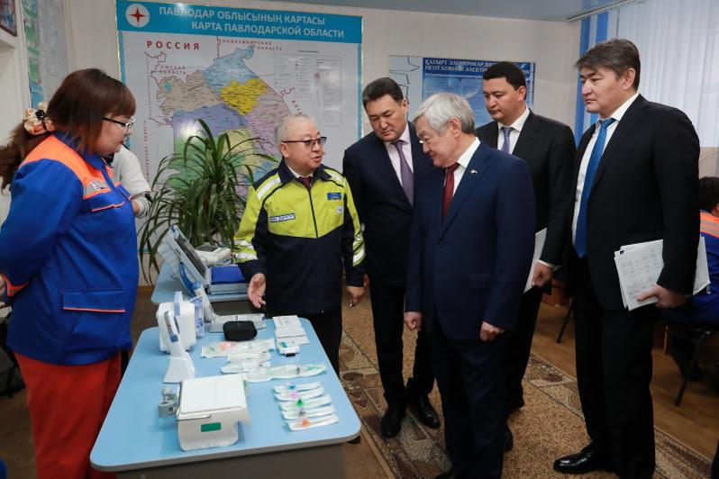 Правительственная рабочая группа посетила Павлодарскую область
