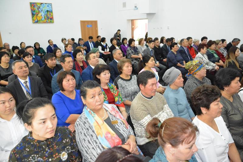 Бердибек Сапарбаев встретился с жителями Зерендинского района Акмолинской области
