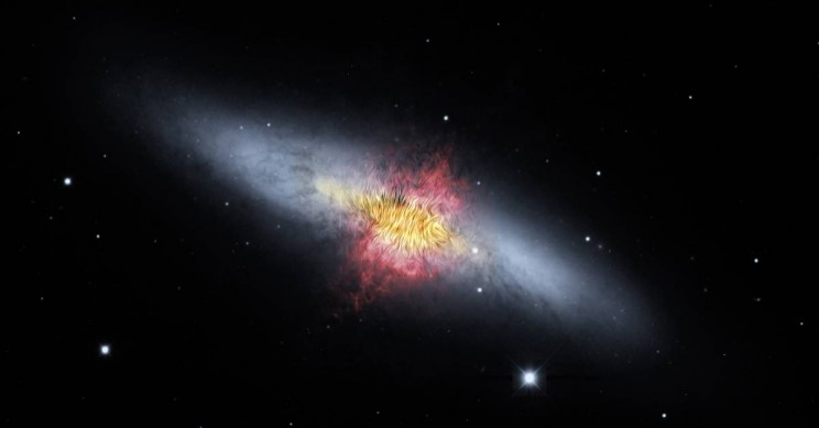 Astronomers observe galactic winds for first time - study