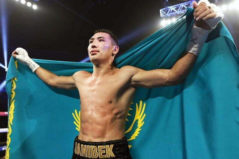 Kazakh boxer Alimkhanuly rises in Boxrec rankings