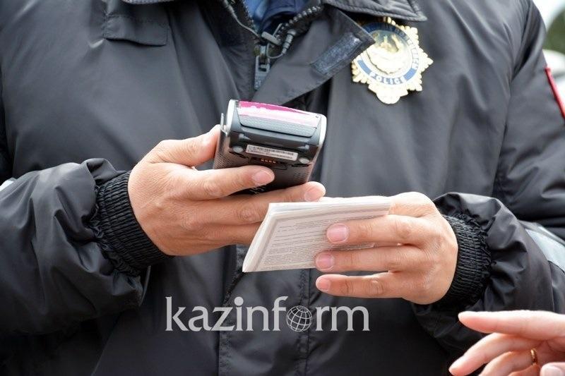На 35 млн тенге оштрафовали нарушителей ПДД в Павлодаре