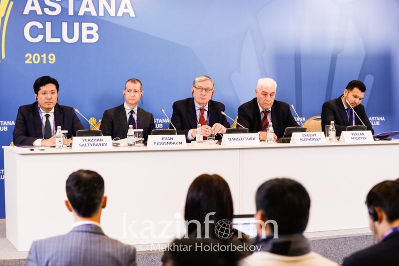 Топ-10 рисков для Евразии представили на площадке Astana Club