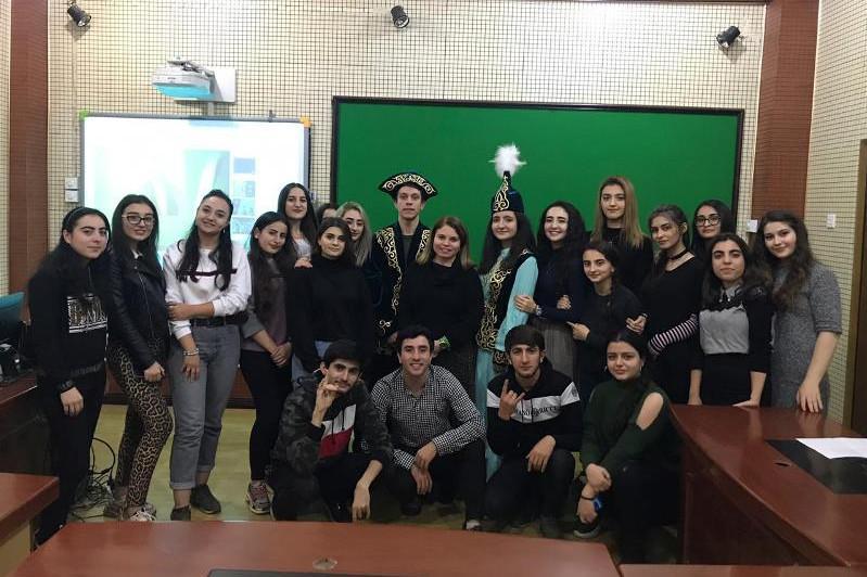 Баку университетінде Абайға арналған кеш өтті