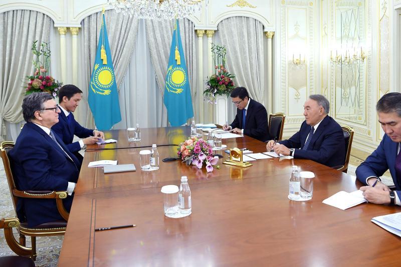 Нурсултан Назарбаев встретился с экс-председателем Европейской Комиссии