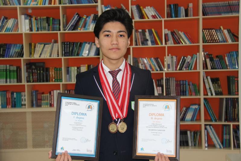 Школьник из Актобе победил на олимпиаде в Анталии