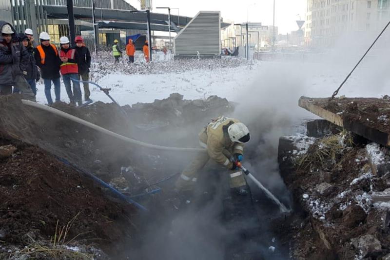 Отключение электричества в столице: возможную причину возгорания кабеля назвали в акимате