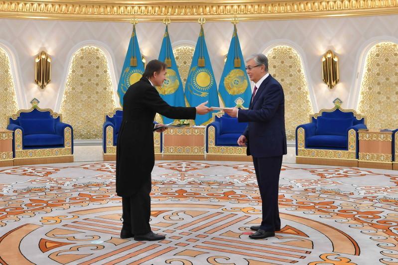 Касым-Жомарт Токаев принял верительные грамоты послов ряда государств