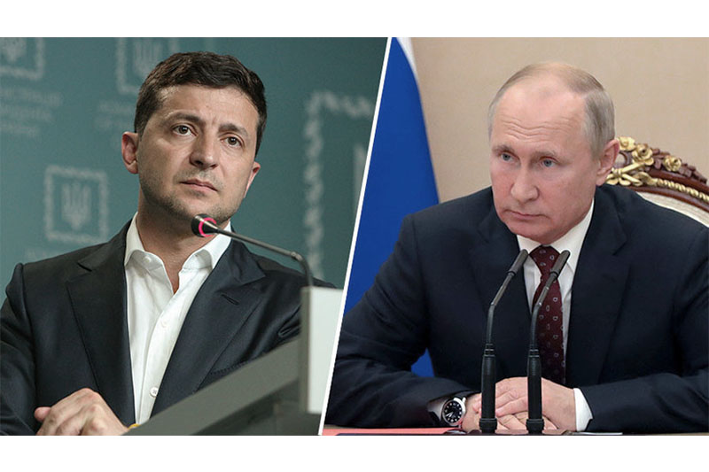 Nazarbayev suggests arranging Putin-Zelensky meeting