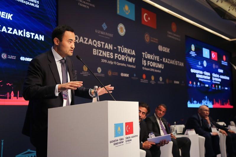 18 документов на 1,5 млрд долларов США подписаны на казахстанско-турецком бизнес-форуме