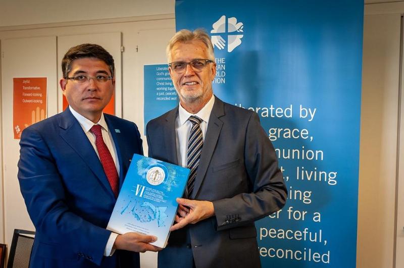 Центр Н. Назарбаева по развитию межконфессионального и межцивилизационного диалога налаживает партнерство с ООН