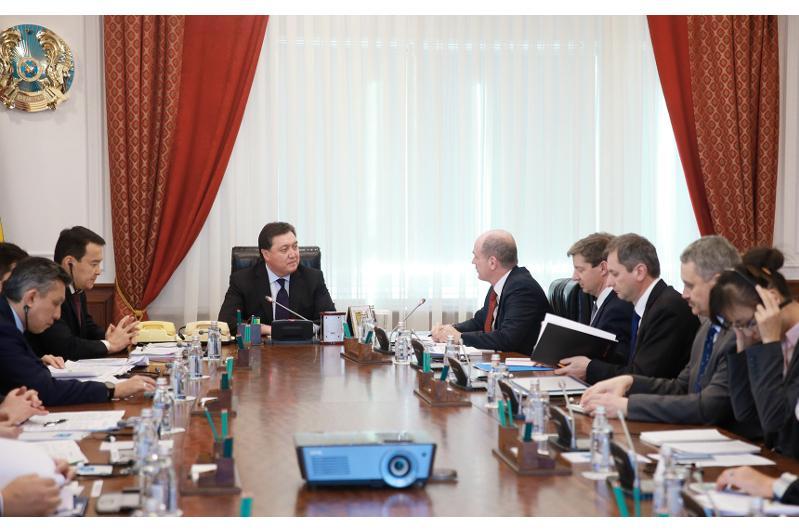 Премьер-Министр РК встретился с главой миссии МВФ по Казахстану