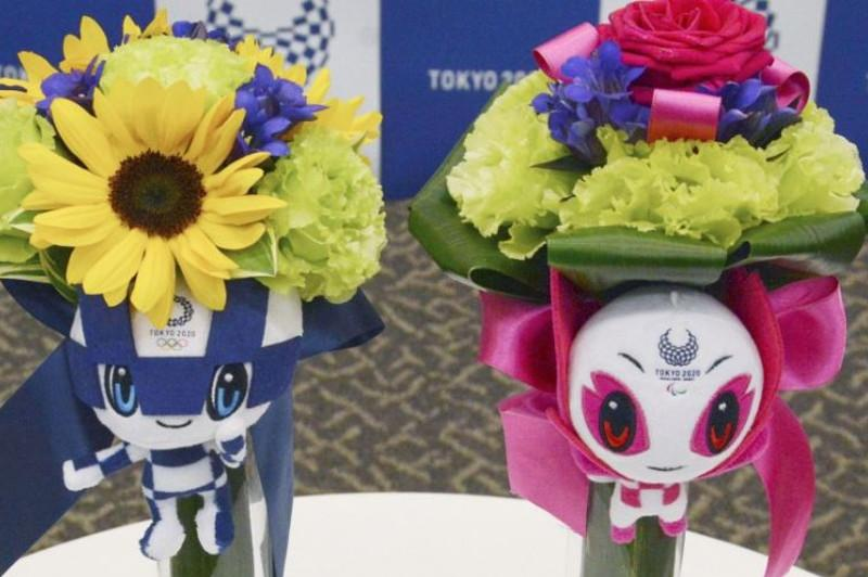 Tokyo Games organizers unveil designs of bouquets for medalists