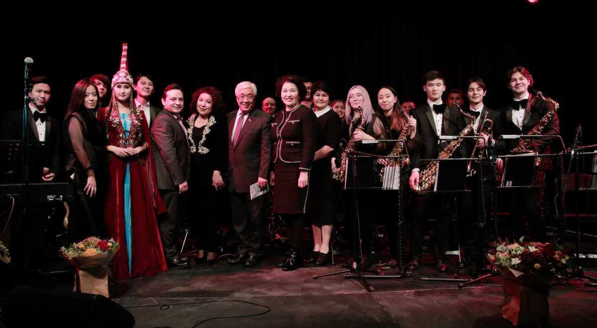London hosts Kazakh jazz band's concert