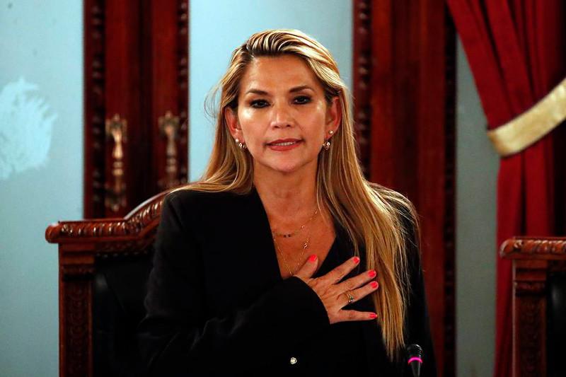 Боливийский кризис: Жанин Аньес объявила себя временным президентом