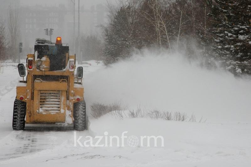 Техники для содержания автодорог в зимний период не хватает в Актюбинской области - ДЧС
