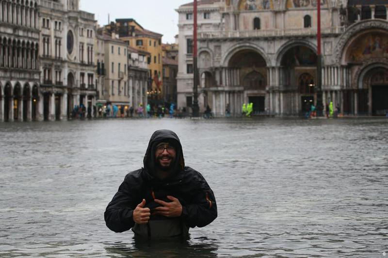 Большая вода: в Венеции объявлено чрезвычайное положение из-за наводнения