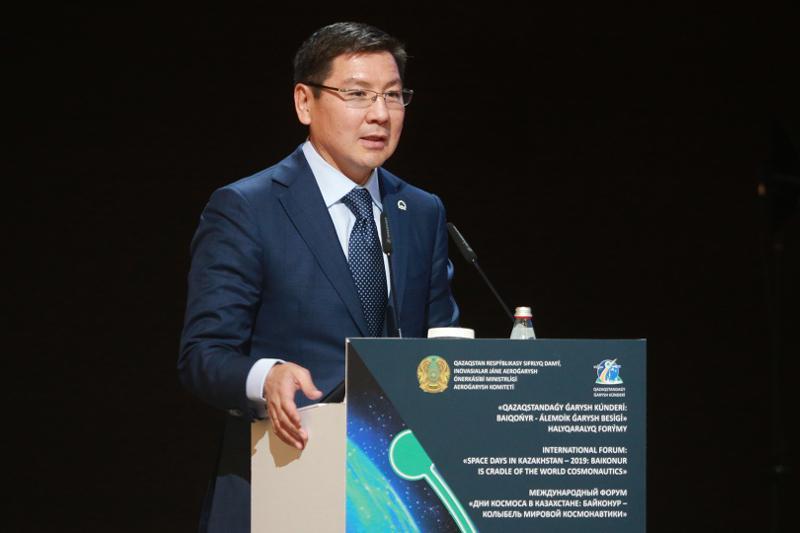 哈萨克斯坦有意加入世界太空协会