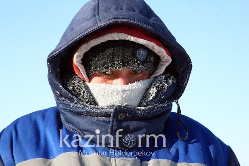 Deep freeze heading to Kazakhstan