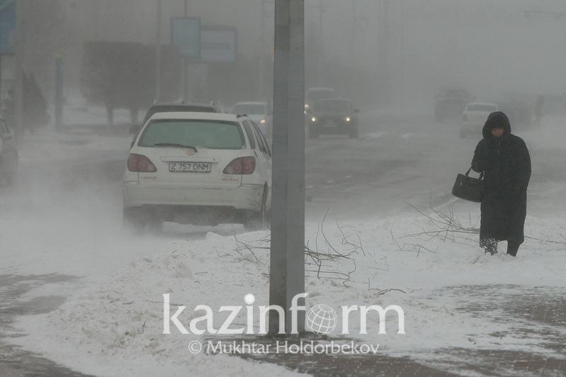 Bad weather alert issued for N Kazakhstan