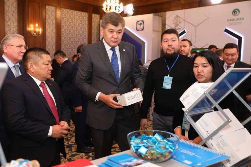 哈萨克斯坦医疗日活动在比什凯克开幕