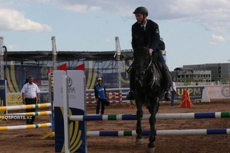 现代五项亚锦赛:哈萨克斯坦代表团收获首枚奖牌