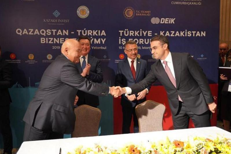 Memoranda worth $200 mln inked by Turkestan region's mayor and Turkish companies
