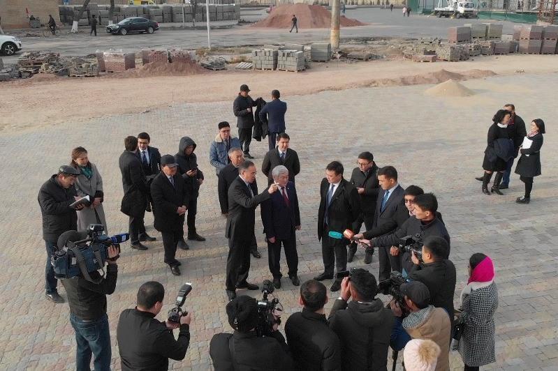 Berdibek Saparbaev: Kóne Taraz tarıhyn tanytýda keshendi sharalar atqarylýy tıis