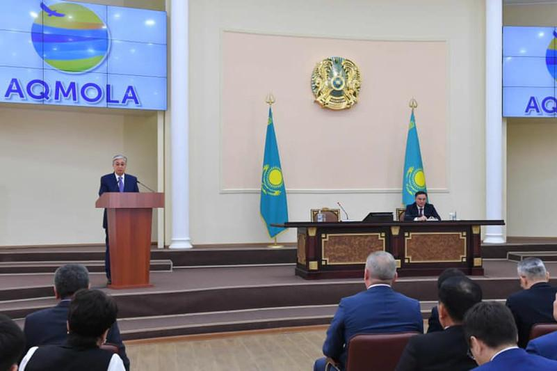 Президент призвал решать экологические проблемы в Акмолинской области