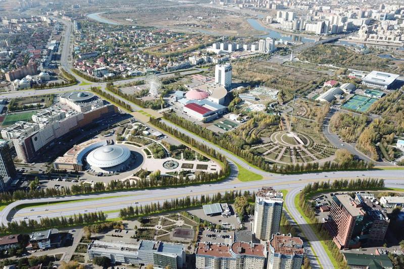 На каких улицах появятся новые развязки в Нур-Султане