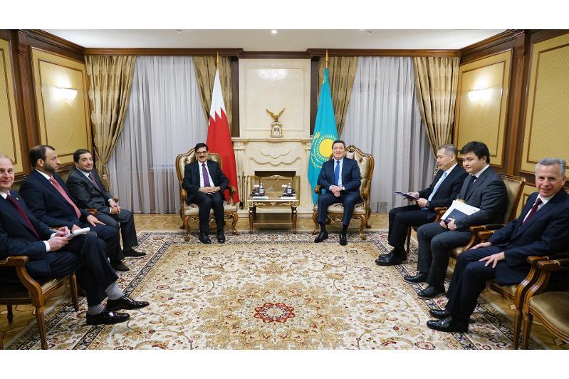 Аскар Мамин провел встречу с заместителем Премьер-Министра Катара