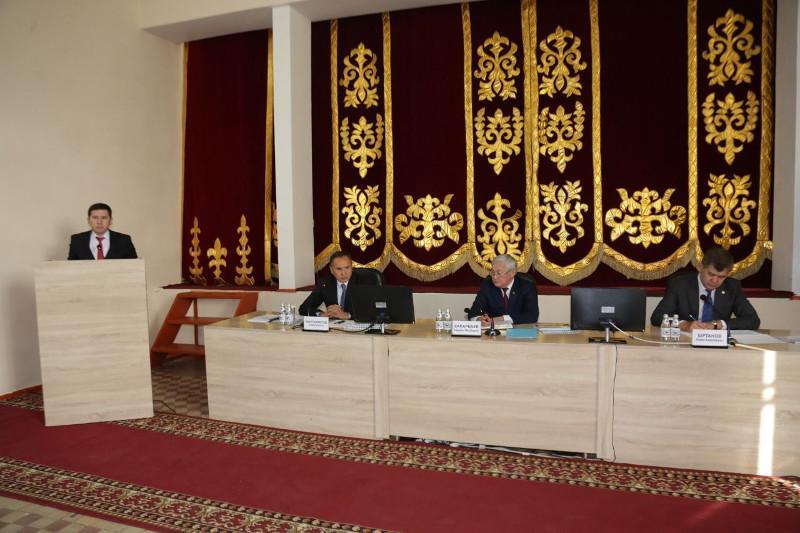 Бердибек Сапарбаев ознакомился с реализацией проекта по повышению доходов населения в Жамбылской области