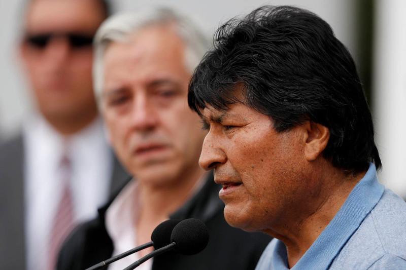 辞职避难的莫拉莱斯表示愿重返玻利维亚