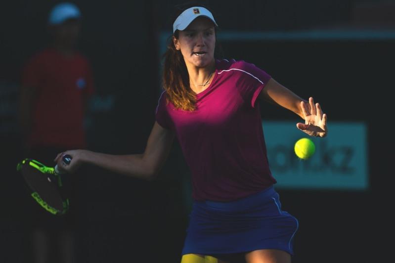 Казахстанка Данилина не смогла выйти в третий круг теннисного турнира в США