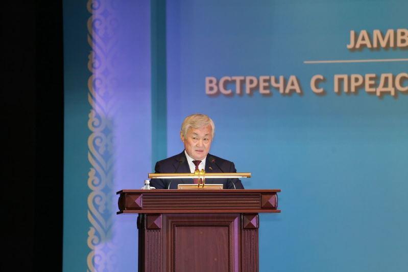 Бердибек Сапарбаев встретился с жителями Жамбылской области