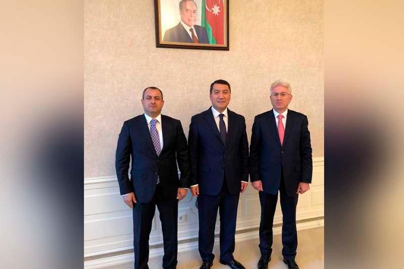 Kazakh Ambassador meets with members of Milli Majilis of Azerbaijan