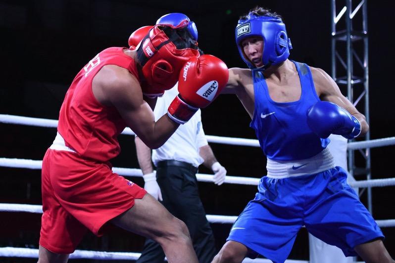 Восемь казахстанцев вышли в полуфинал чемпионата Азии по боксу