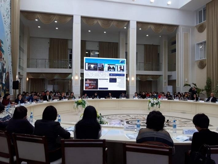 Преподавателей казахского языка учат использовать в работе мультимедийные инструменты