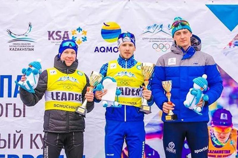 Щучьелік шаңғышы Шығыс Еуропа кубогы жарысында үшінші орын алды