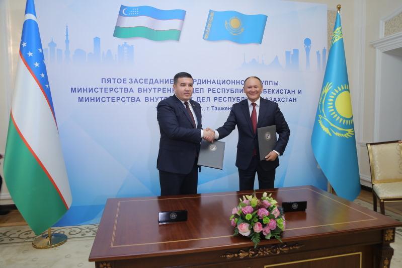 МВД Казахстана и Узбекистана намерены обмениваться информацией в сфере борьбы с терроризмом и экстремизмом