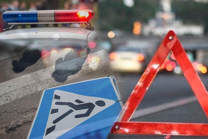 Водитель с иностранными номерами сбил женщину в столице и скрылся