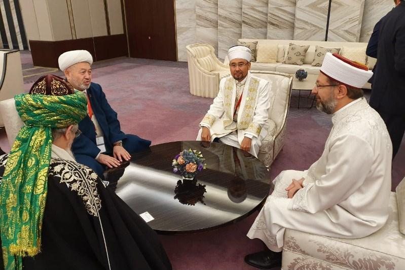Қазақстанның Бас мүфтиі Баку саммитіне қатысуда