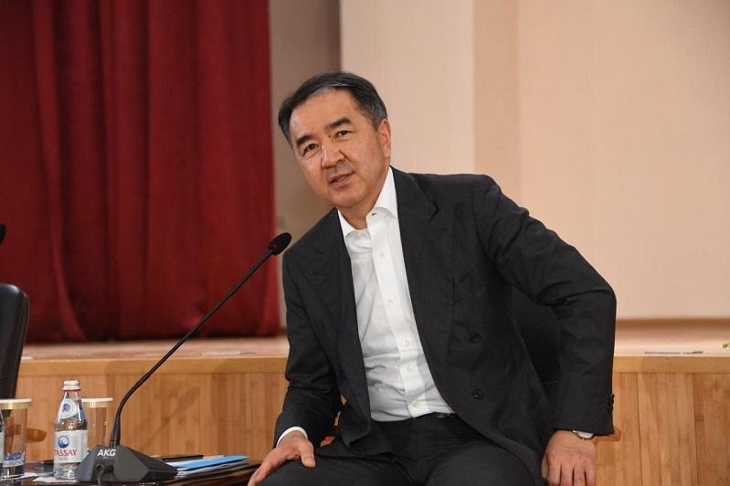 阿拉木图市市长会见莫斯科市政府部长